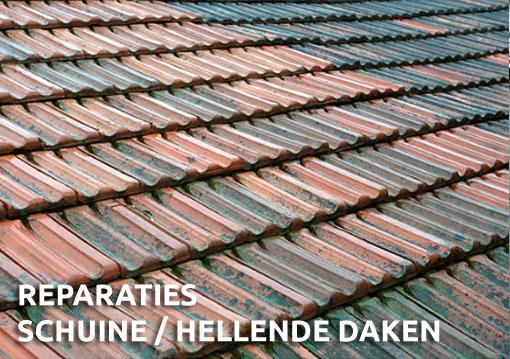 dakdekker voor schuine daken